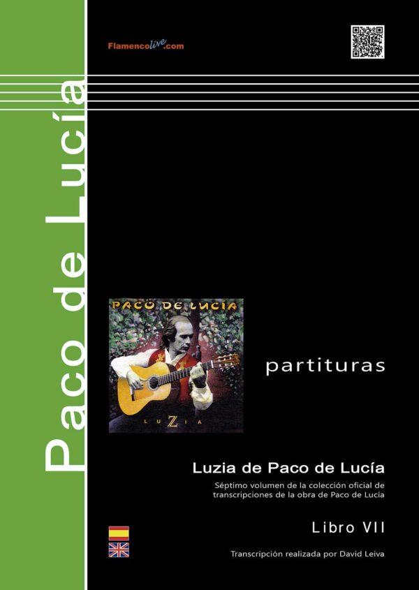 Luzia (Book) Paco de Lucía