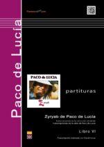 ZyRYAB - Libro de partituras - Paco de Lucía