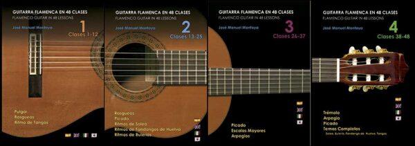 Guitarra Flamenca en 48 clases - Colección