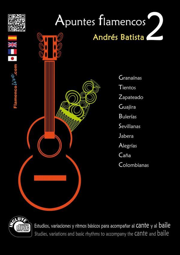 Apuntes Flamencos Vol 2 (Repertory), Andrés Batista