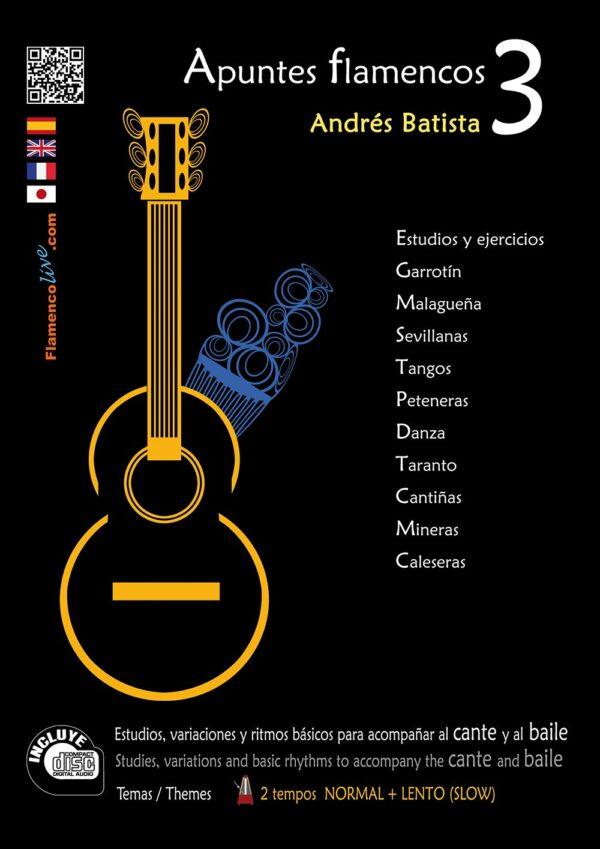 Apuntes Flamencos Vol 3 (Temas de repertorio)- Andrés Batista