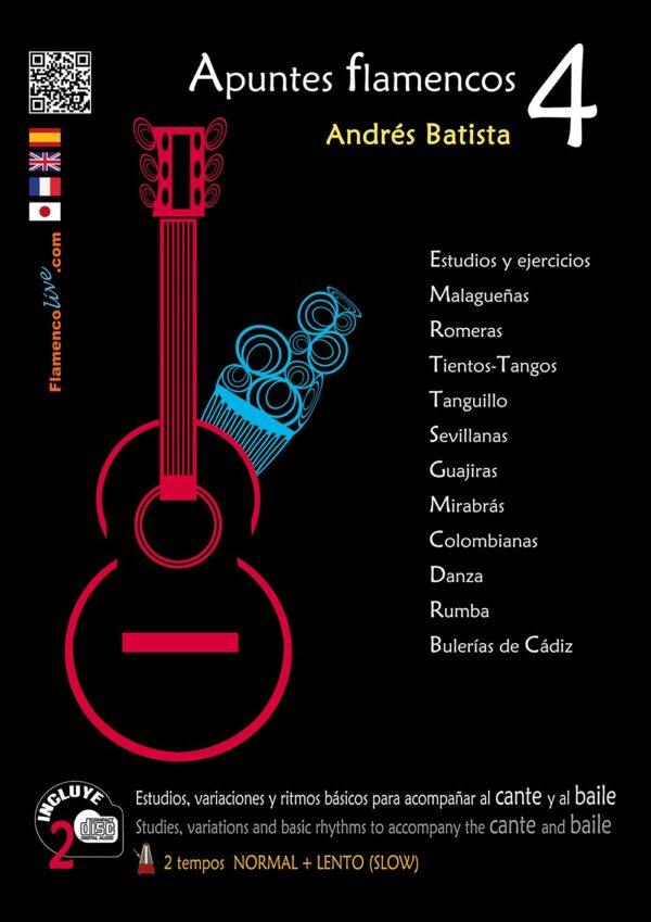Apuntes Flamencos Vol 4 (Temas de repertorio)- Andrés Batista