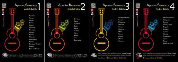 Apuntes Flamencos Pack (Temas de repertorio)- Andrés Batista