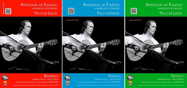 Antología de Falsetas de Paco de Lucía - Pack (Primera Época) - Paco de Lucia