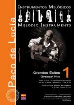 Grandes éxitos de Paco de Lucía para Instrumentos Melódicos Vol.1 - Simón Fernández