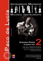 Grandes éxitos de Paco de Lucía para Instrumentos Melódicos Vol.2 - Simón Fernández