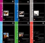 Colección de libros de partituras de Paco de Lucía
